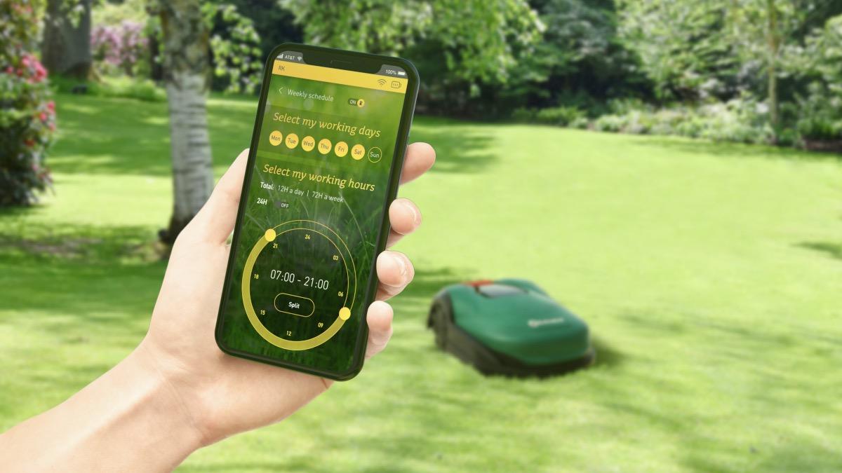 Robomow RK Mobile App